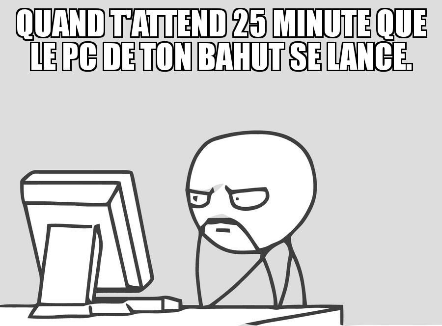 En attente d'une réponse serveur... ;) - meme