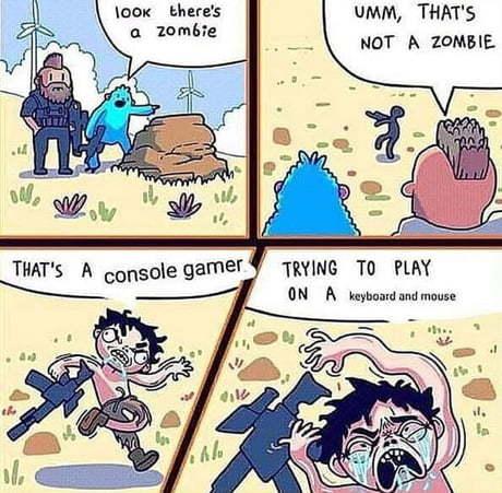 I love console - meme