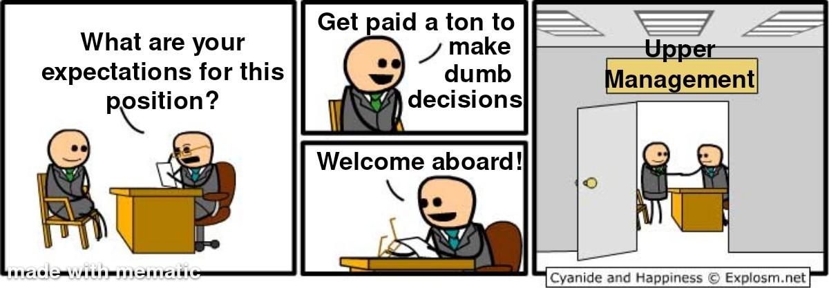 My bosses - meme
