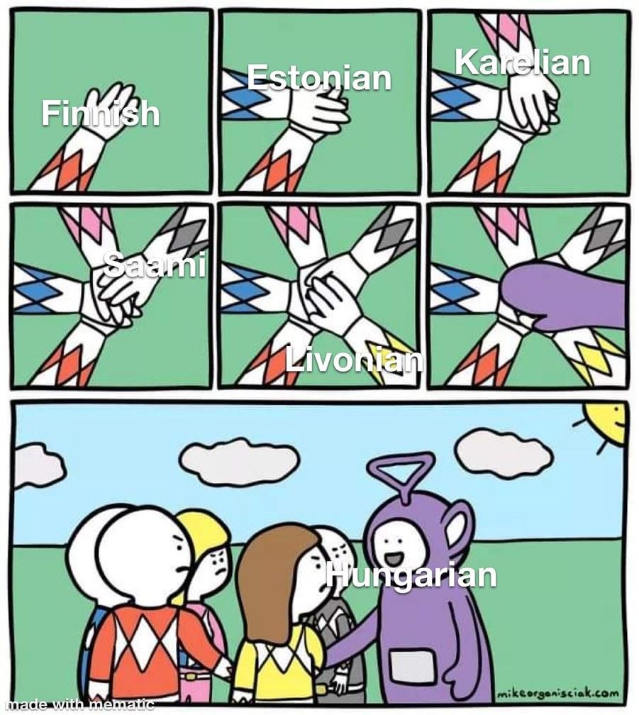 Uralic languages - meme