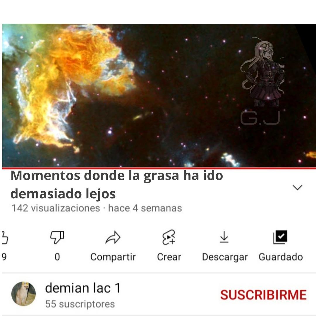 Oh shit el papu galáctico - meme