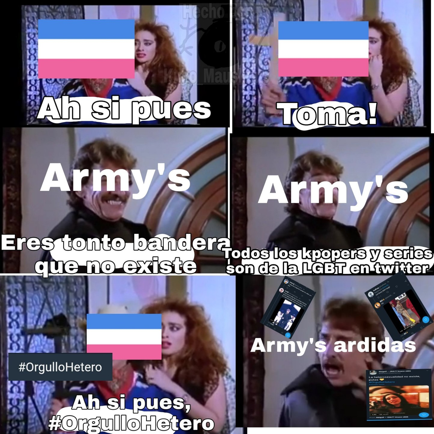 Malditas army's arruinaron el Orgullo Hetero - meme