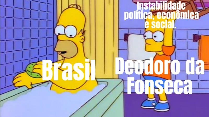 Maldito Deodoro - meme