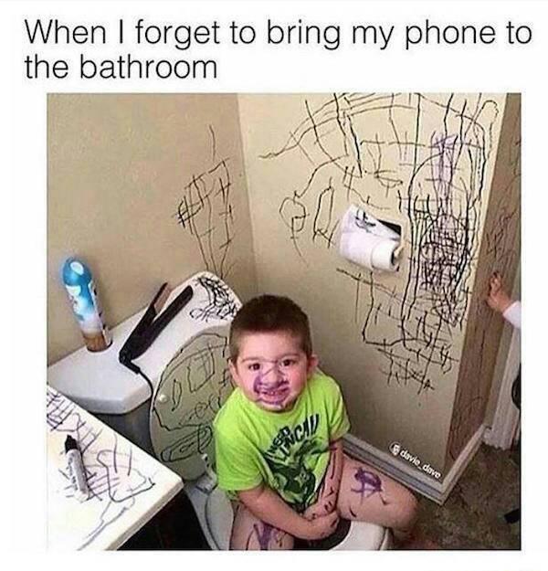 Solitary poop - meme