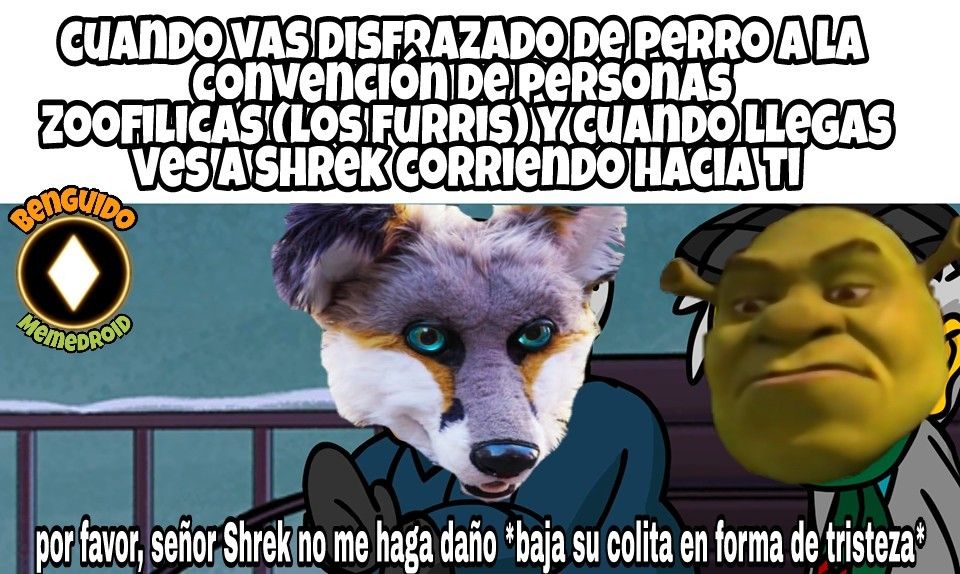 Pinches zoofilicos - meme