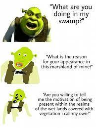 It's pronounced swAmp - meme
