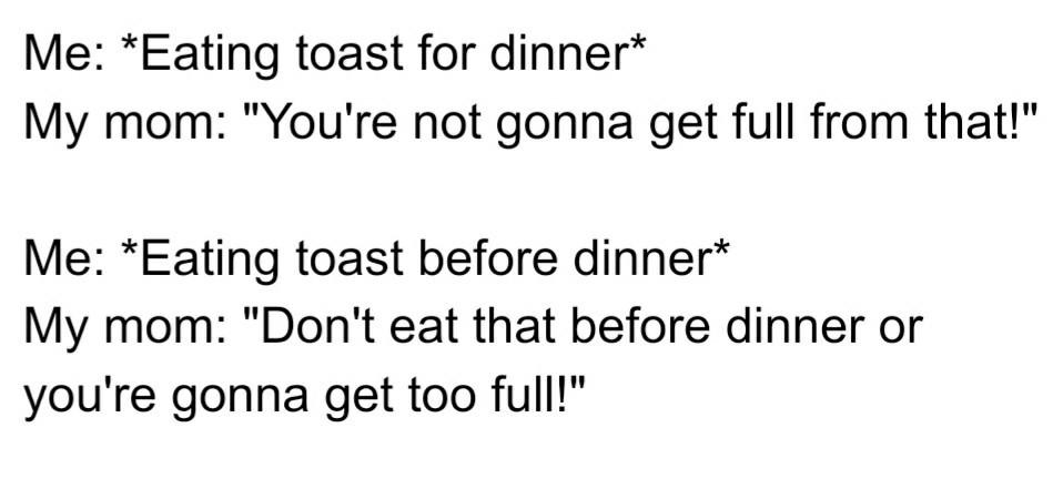 Parents' logic.. - meme
