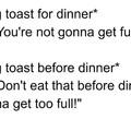 Parents' logic..