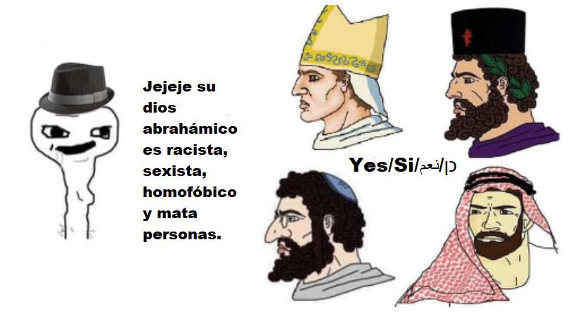 No sabia que los judíos eran argentinos tambien - meme
