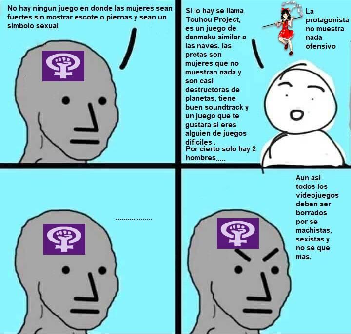 Usa el meme contra una feminista para que se calle de una vez