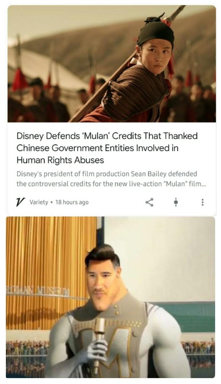 Why Disney? Just why? - meme