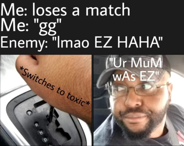 Who's EZ now ?!! - meme