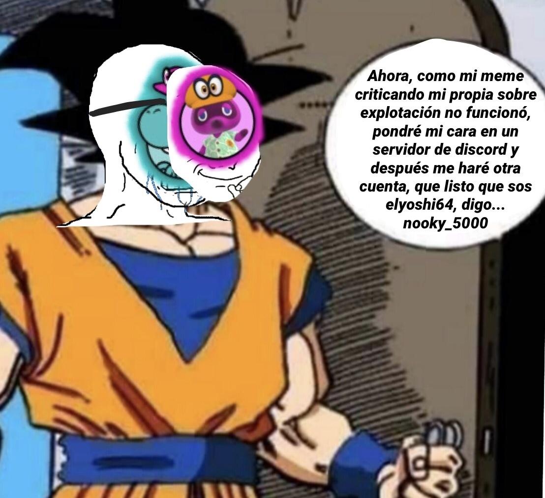 Ya hay que detenernos con los memes sobre Yoshi, ya me estoy sintiendo culpable :okay: