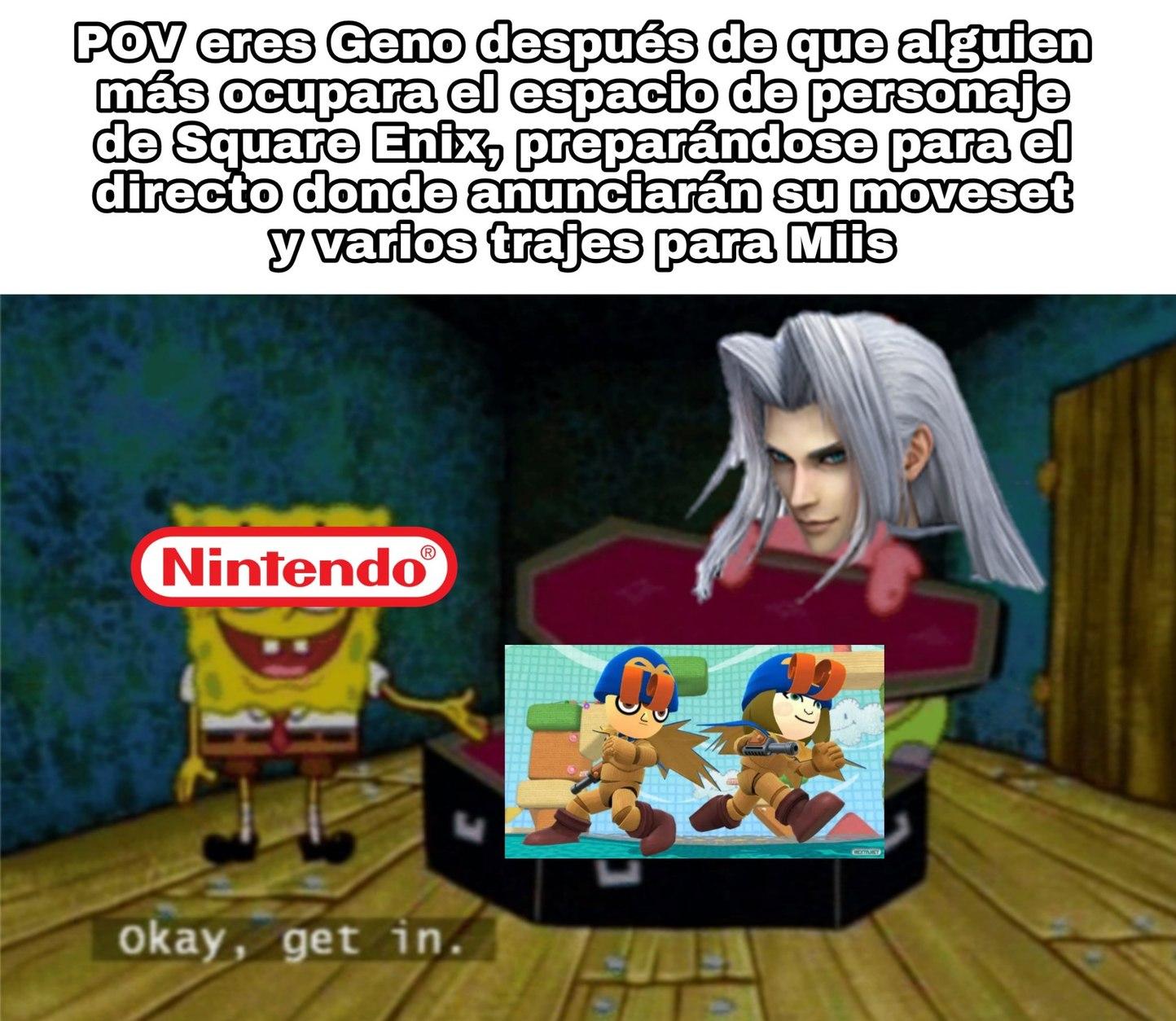 Por cierto, Super Mario RPG es una mierda de juego - meme