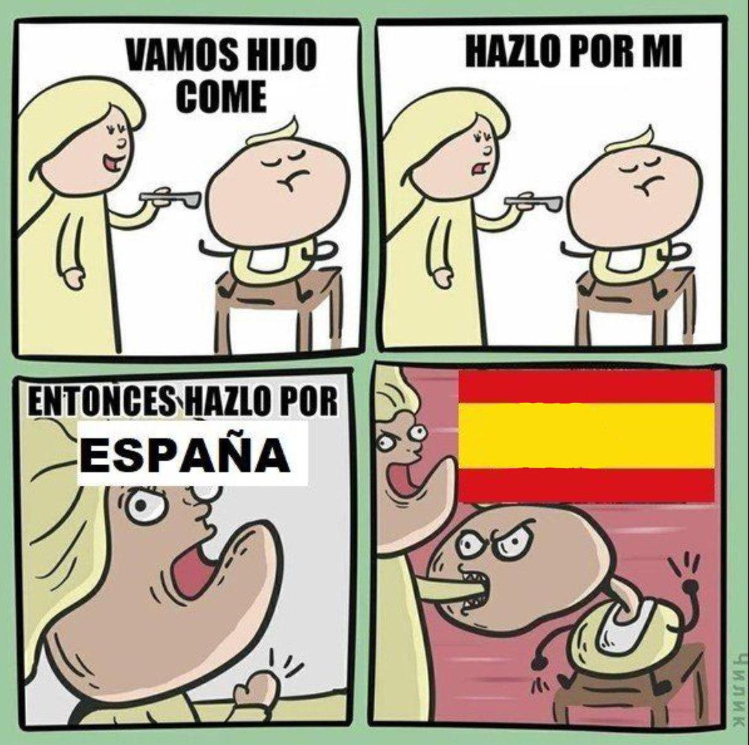 POR ESPAÑA - meme