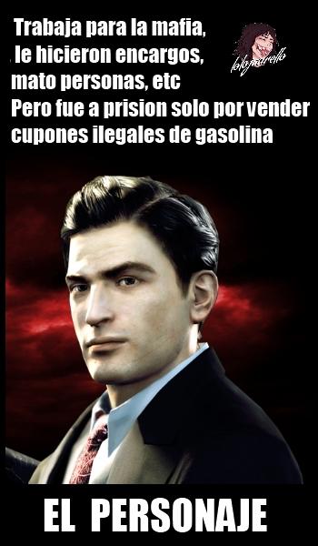 Les recomiendo el Mafia II, ¡¡¡¡¡¡¡¡¡¡es un juegazo que vale la pena jugar!!!!!!!!!!!!!!! - meme