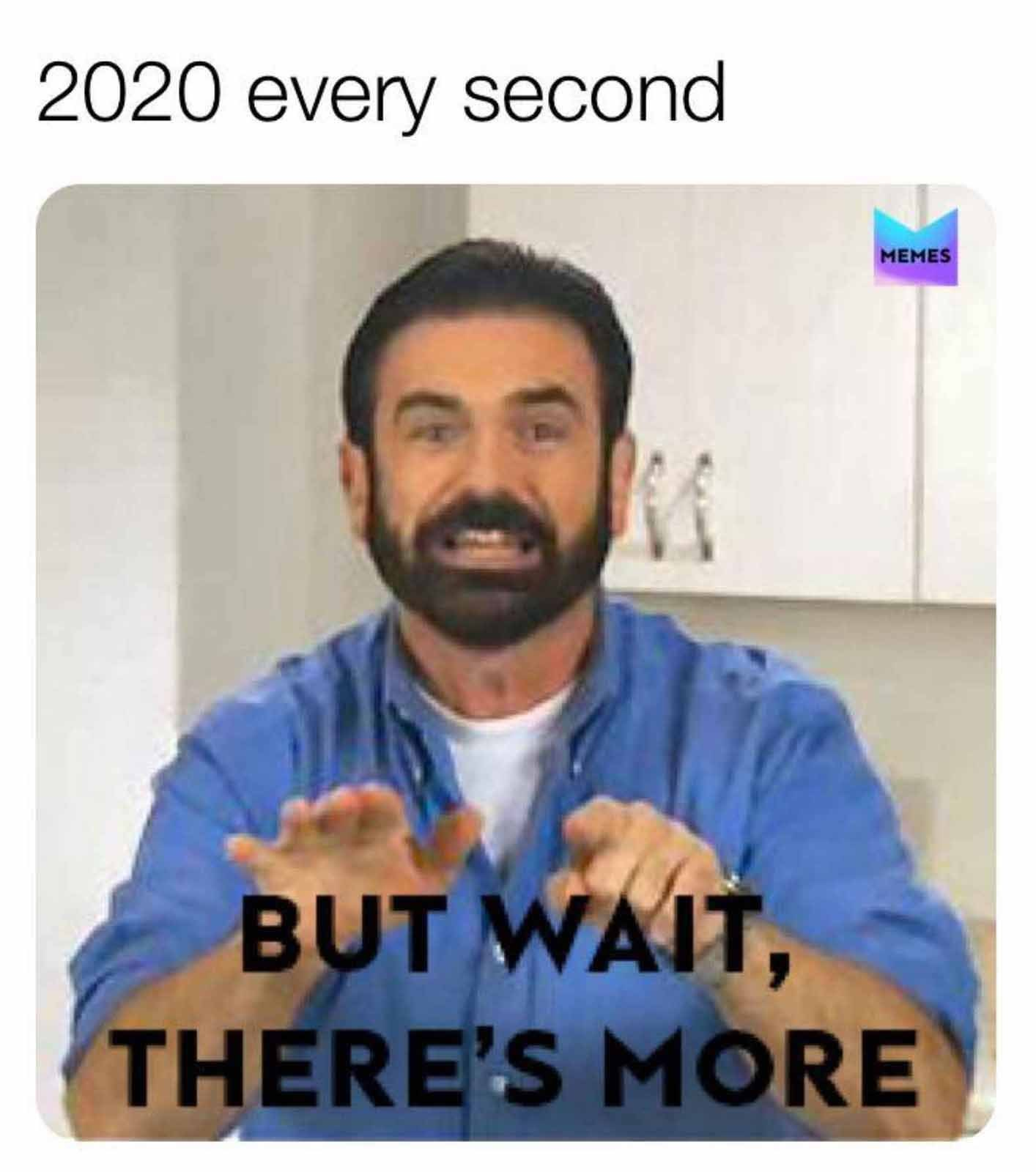 What now 2020? - meme