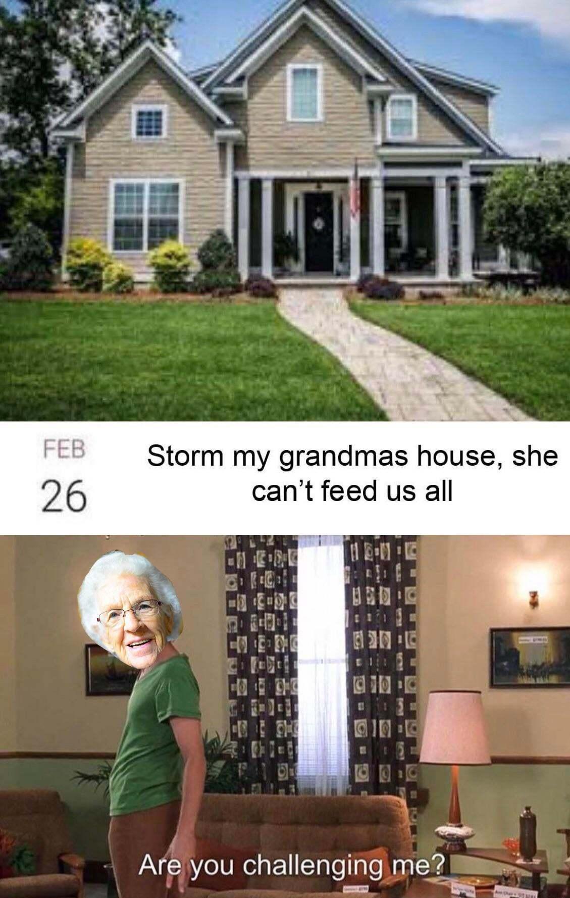 Grandmas - meme