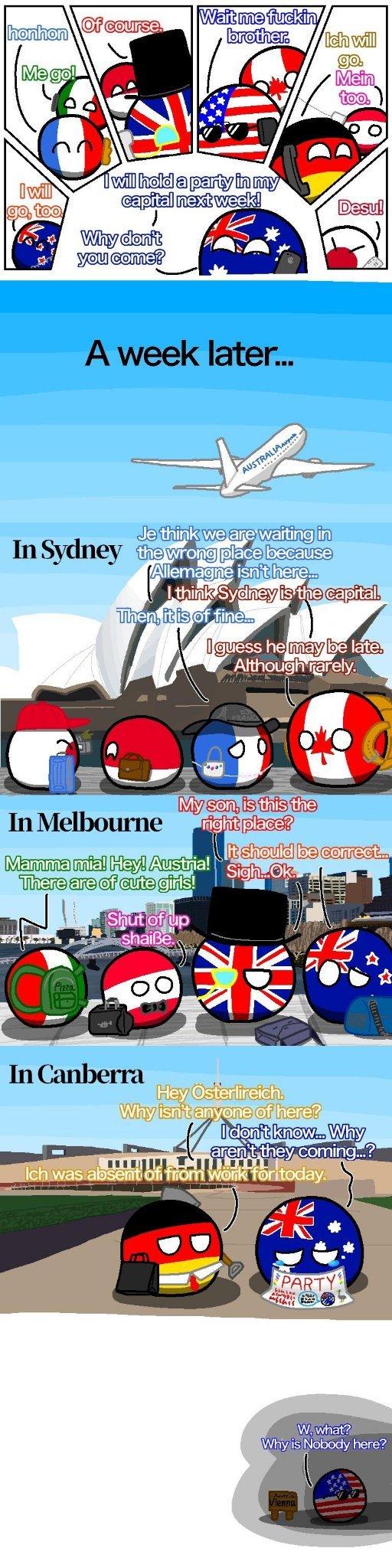 australia hungary - meme
