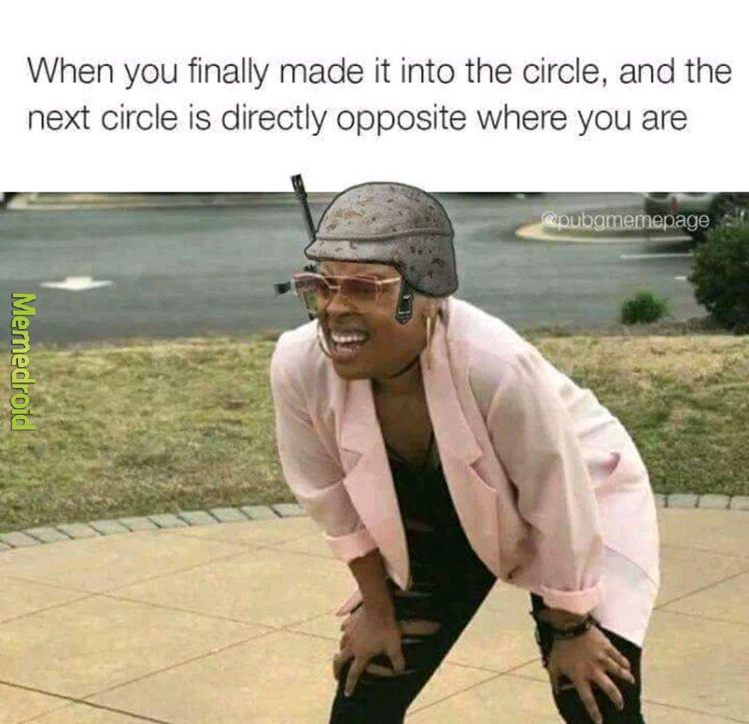 Running simulator meme