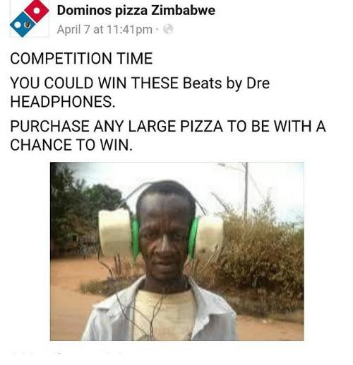 Dominos zimbabwe 1 - meme