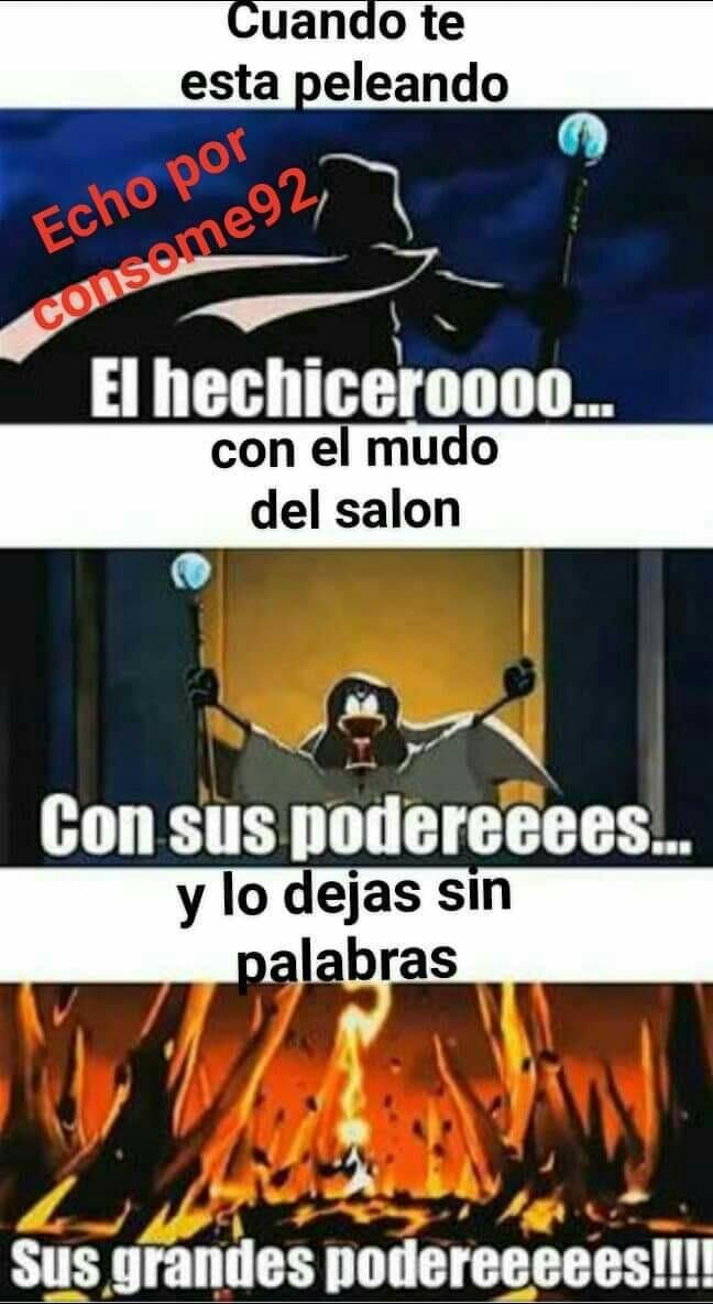 El hechicero - meme
