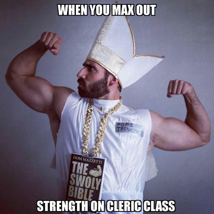 Jacked Man of God - meme