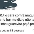"""""""Onestidade"""" carioca"""
