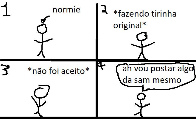 a vida de um normie - meme