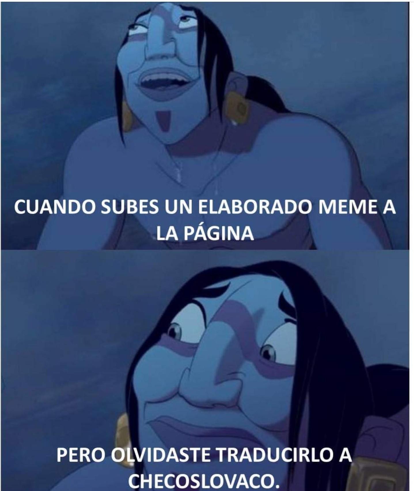 Oh vaya - meme