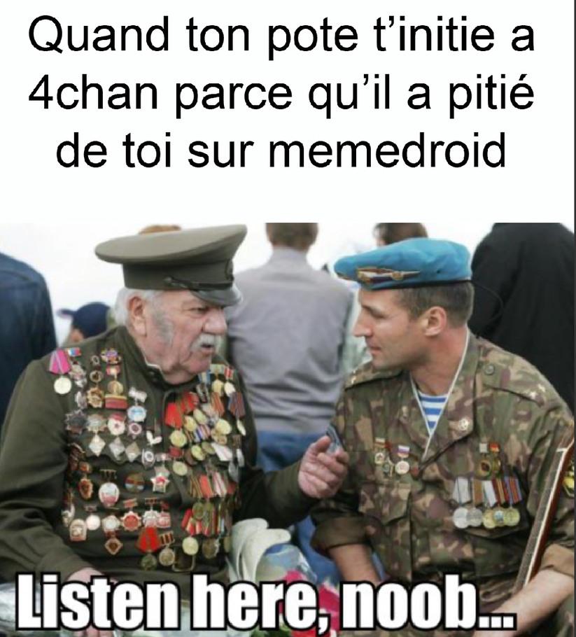 4chan c'est la jungle - meme