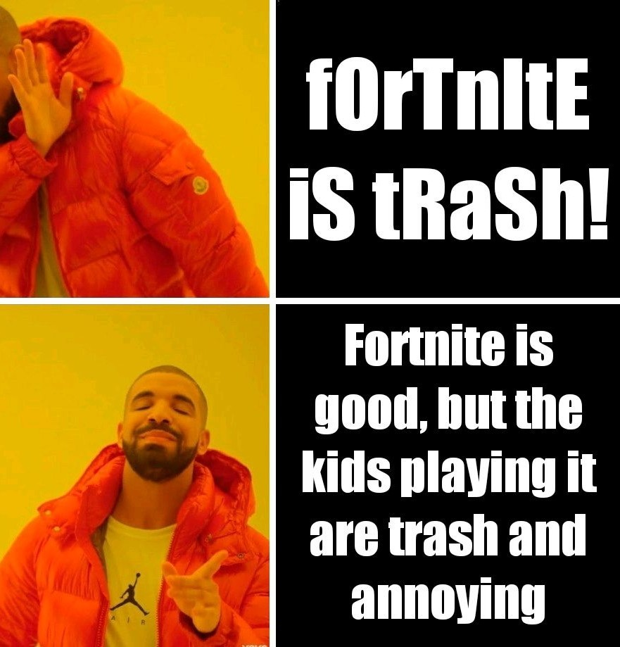 Fortnite meme