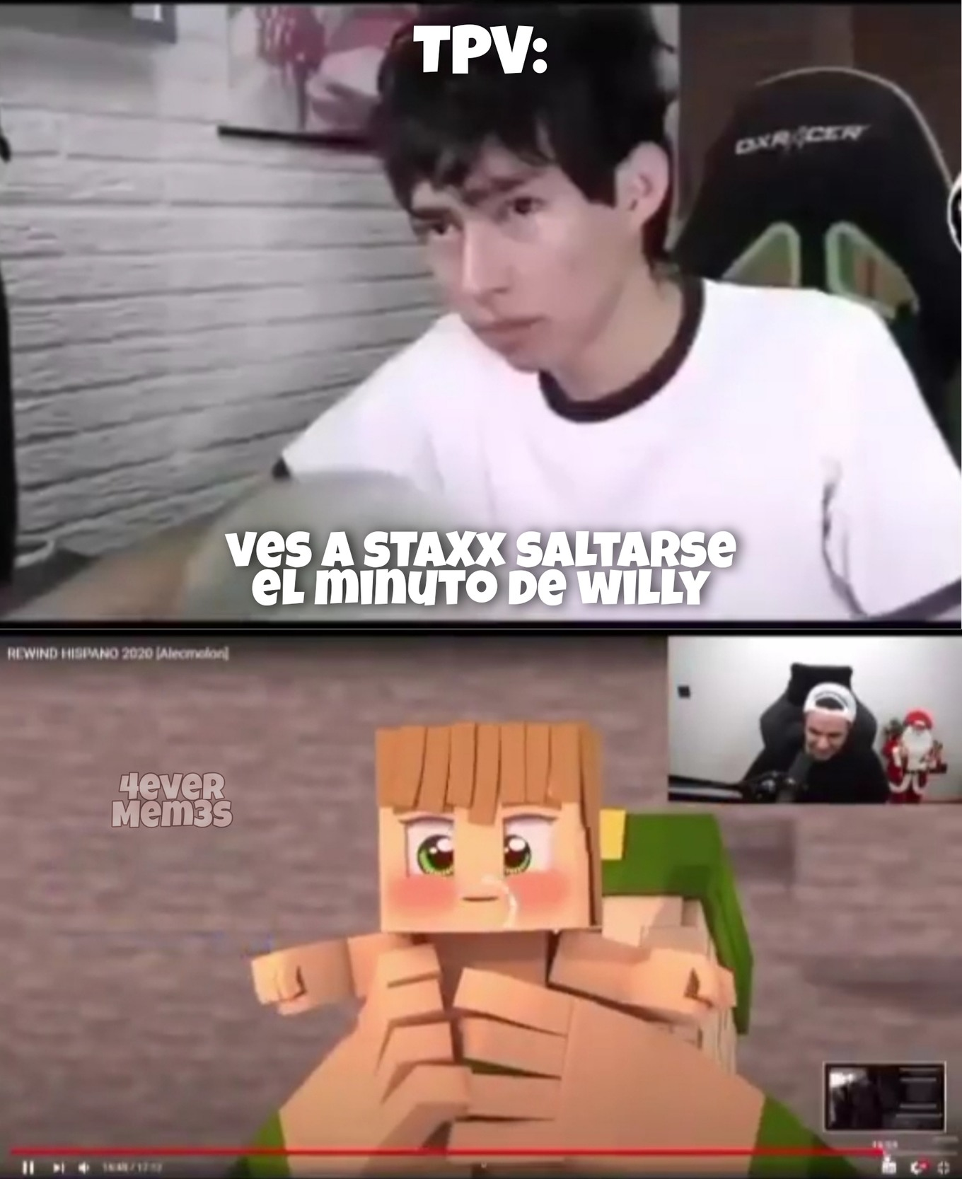 Nooo sTaXx - meme