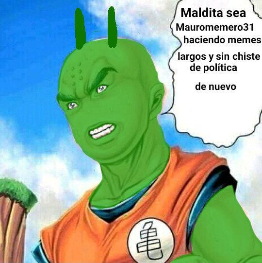 Maldición Mauro Molina - meme