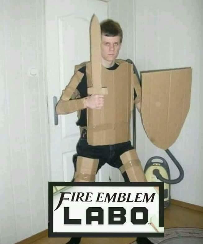 El Fire Emblem pa la Switch - meme
