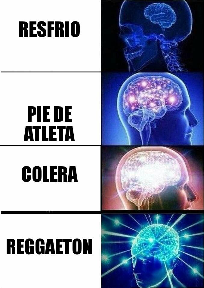 Tipos de enfermedades - meme