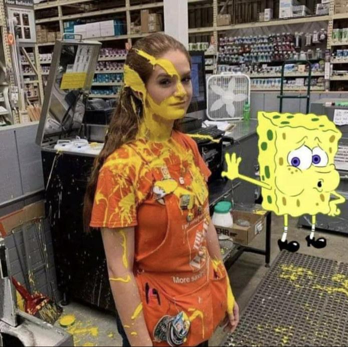 Sponge job - meme