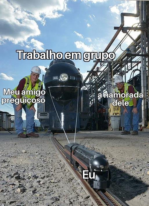 Trem Original - meme