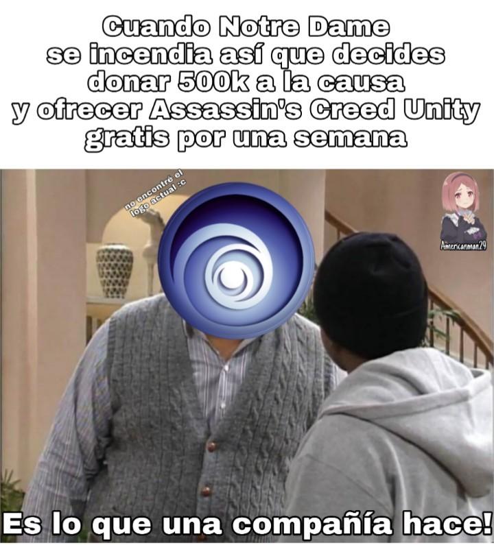 Unity gratis hasta el 24 ;) - meme