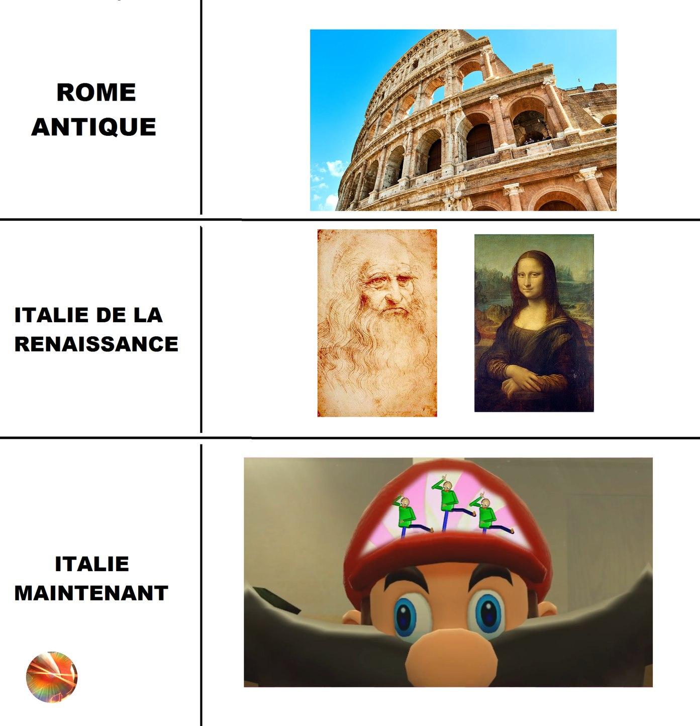 Nous vivons l'époque de la convertion ( histoire -> memes )