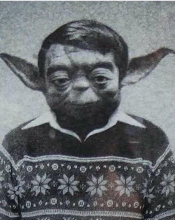 Yoda in the '70 - meme