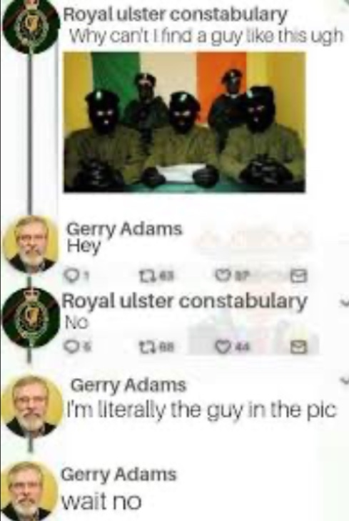 sorry about the quality. also who created an account for the RUC? - meme
