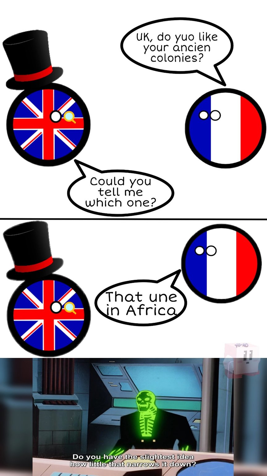 Empires having a talk - meme