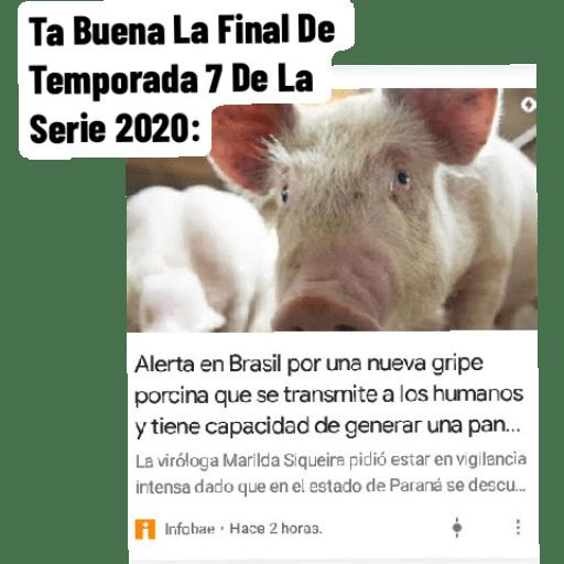 Ta Buena El Final De Temporada 7 De La Serie 2020 - Memes