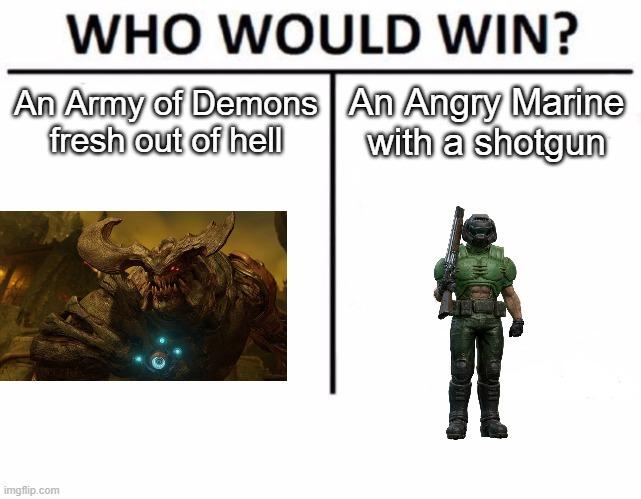 I'm a doomer I play DOOM - meme