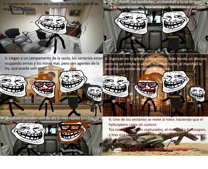 """El incidente de """"Los edenistas"""" - meme"""