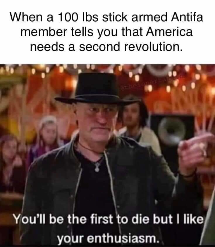 Not a commie revolution tho - meme