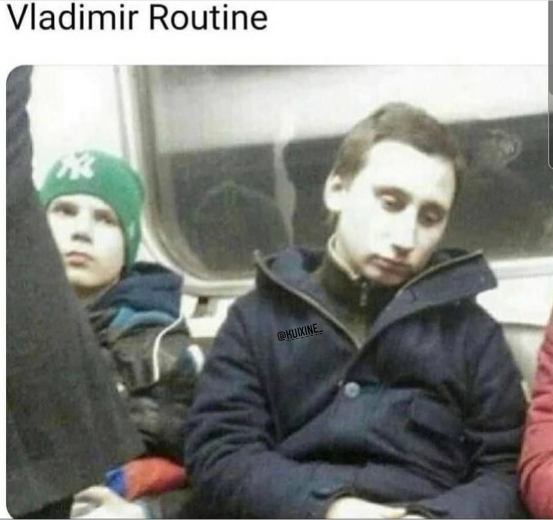La mère Russie au plus bas - meme