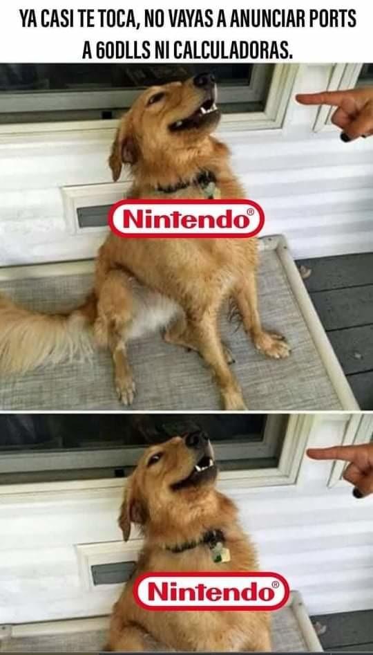 Solo nintendo puede salvar el E3 2021 - meme