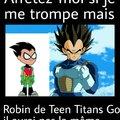 J'addore Vegeta !!! (R.I.P. Teen Titans)